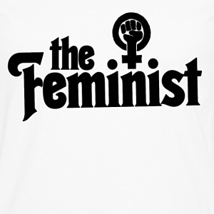 The Feminist  - Men's Premium Long Sleeve T-Shirt