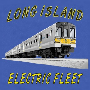 LIRR_M7 Elec Fleet.png Mugs & Drinkware - Men's T-Shirt