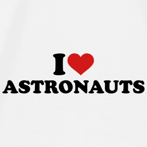 I love Astronauts Mugs & Drinkware - Men's Premium T-Shirt
