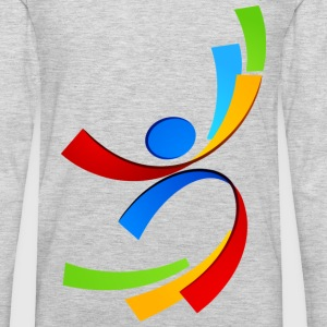 Sport element logo and icon T-Shirts - Men's Premium Long Sleeve T-Shirt