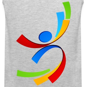 Sport element logo and icon T-Shirts - Men's Premium Tank
