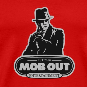 MOB OUT ENT BANDANNA - Men's Premium T-Shirt