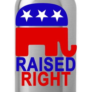 raised_right_ - Water Bottle