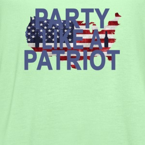 party_like_a_patriot_ - Women's Flowy Tank Top by Bella