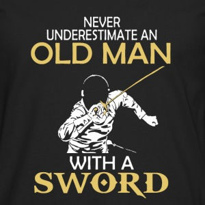 Sword Shirt - Men's Premium Long Sleeve T-Shirt