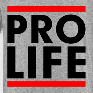 Pro Life Slogan Campaign Stop Abortion Sign Kids' Shirts - Toddler Premium T-Shirt