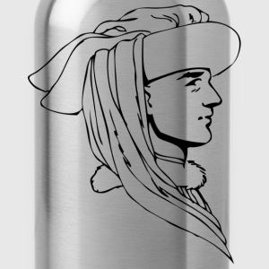 Renaissance tradition of human head - Water Bottle