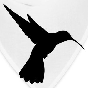 Long beak humming bird silhouette T-Shirts - Bandana