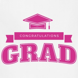 Congratulations Grad - Adjustable Apron