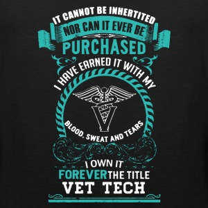 Vet tech Shirt - Men's Premium Tank