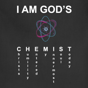 I Am God's Chemist - Adjustable Apron