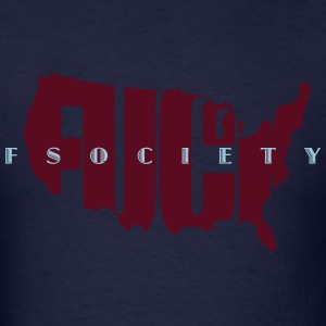 mr robot s02 united we fsociety Hoodies - Men's T-Shirt