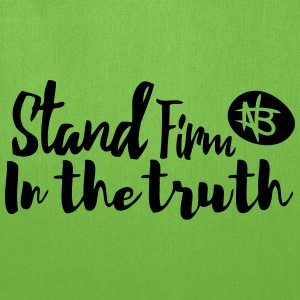 Stand Firm in the Truth - Northbound Christian - Tote Bag