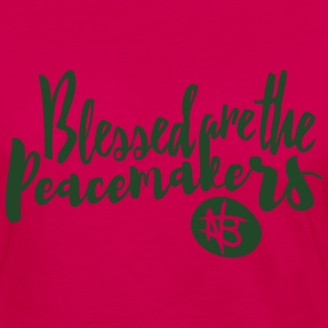 Blessed are the Peacemakers - Northbound Christian - Women's Premium Long Sleeve T-Shirt