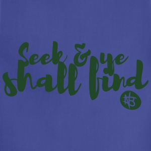 Seek and Ye Shall Find - Northbound Christian - Adjustable Apron