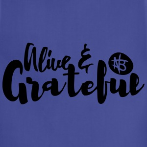 Alive and Grateful - Northbound Christian Apparel - Adjustable Apron