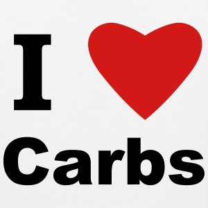 I Love Carbs! Women's T-Shirts - Men's Premium Tank
