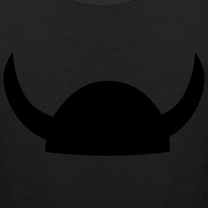 Viking Helmet Women's T-Shirts - Men's Premium Tank
