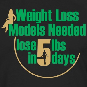 WEIGHT LOSS BUSINESS WOMAN TEE - Men's Premium Long Sleeve T-Shirt