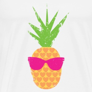 Rockin Lovin Pineapple - Men's Premium T-Shirt