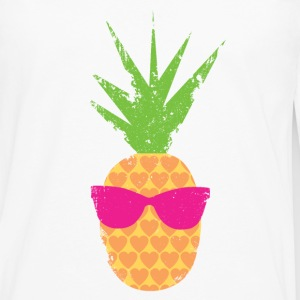 Rockin Lovin Pineapple - Men's Premium Long Sleeve T-Shirt