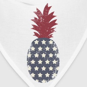 Patriotic Pineapple - Bandana