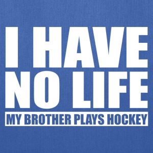 My Brother Plays Hockey Baby & Toddler Shirts - Tote Bag