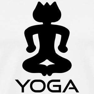 Yoga sitting Sportswear - Men's Premium T-Shirt