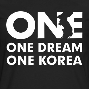 One Dream One Korea T-Shirts - Men's Premium Long Sleeve T-Shirt