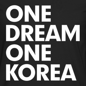 One Dream One Korea Kids' Shirts - Men's Premium Long Sleeve T-Shirt