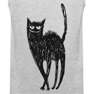 Black and white cat - Men's Premium Tank