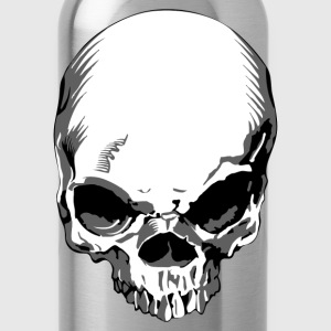 Skull front view T-Shirts - Water Bottle