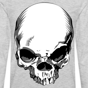 Skull front view T-Shirts - Men's Premium Long Sleeve T-Shirt