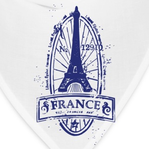 France stamp art T-Shirts - Bandana
