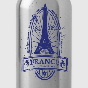 France stamp art T-Shirts - Water Bottle