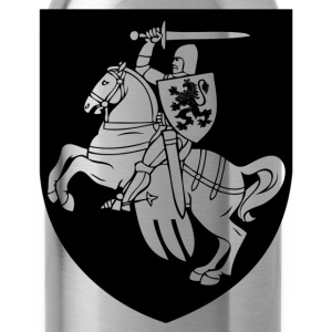 Heraldic element horse silhouette T-Shirts - Water Bottle