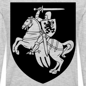 Heraldic element horse silhouette T-Shirts - Men's Premium Long Sleeve T-Shirt