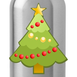 Christmas decoration tree T-Shirts - Water Bottle
