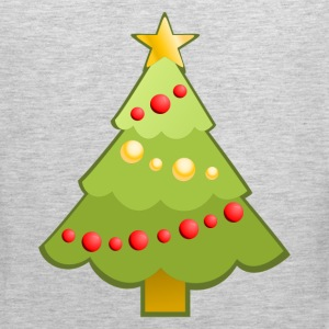 Christmas decoration tree T-Shirts - Men's Premium Tank