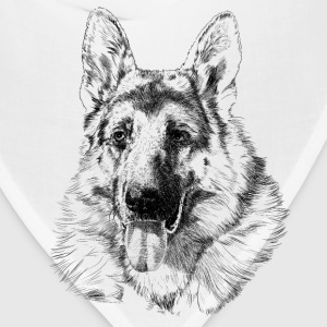 German shepherd Tanks - Bandana