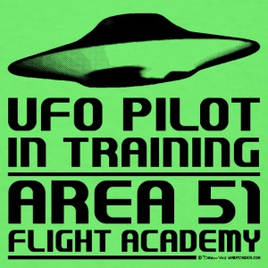 Area 51 UFO Pilot Baby Bodysuits - Men's T-Shirt