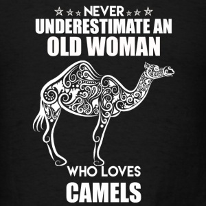 Old Woman Who Loves Camel - Men's T-Shirt