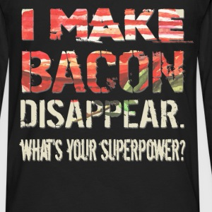 Bacon - Disappear - Men's Premium Long Sleeve T-Shirt