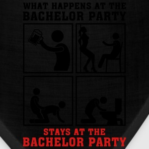 what_happens_at_the_bachelor_party_05201 T-Shirts - Bandana