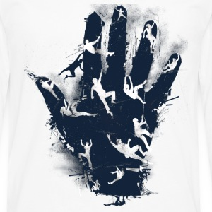 hand climb - Men's Premium Long Sleeve T-Shirt
