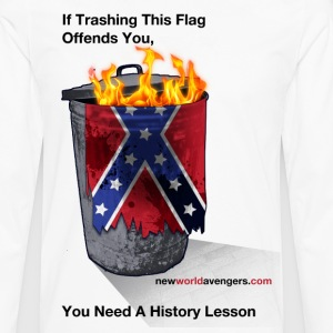 No, YOU need a history lesson - Men's Premium Long Sleeve T-Shirt