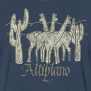 Guanacos of the Altiplano - Men's Premium Long Sleeve T-Shirt