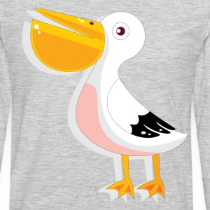 Baby duck with long nose T-Shirts - Men's Premium Long Sleeve T-Shirt