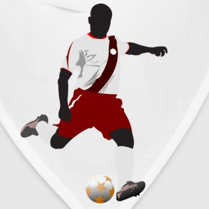 Football player playing soccer in euro cup T-Shirts - Bandana