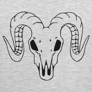Animal head with horns T-Shirts - Men's Premium Tank